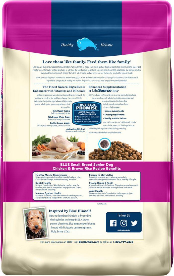 Blue Buffalo Life Protection Small Breed Senior Recipe