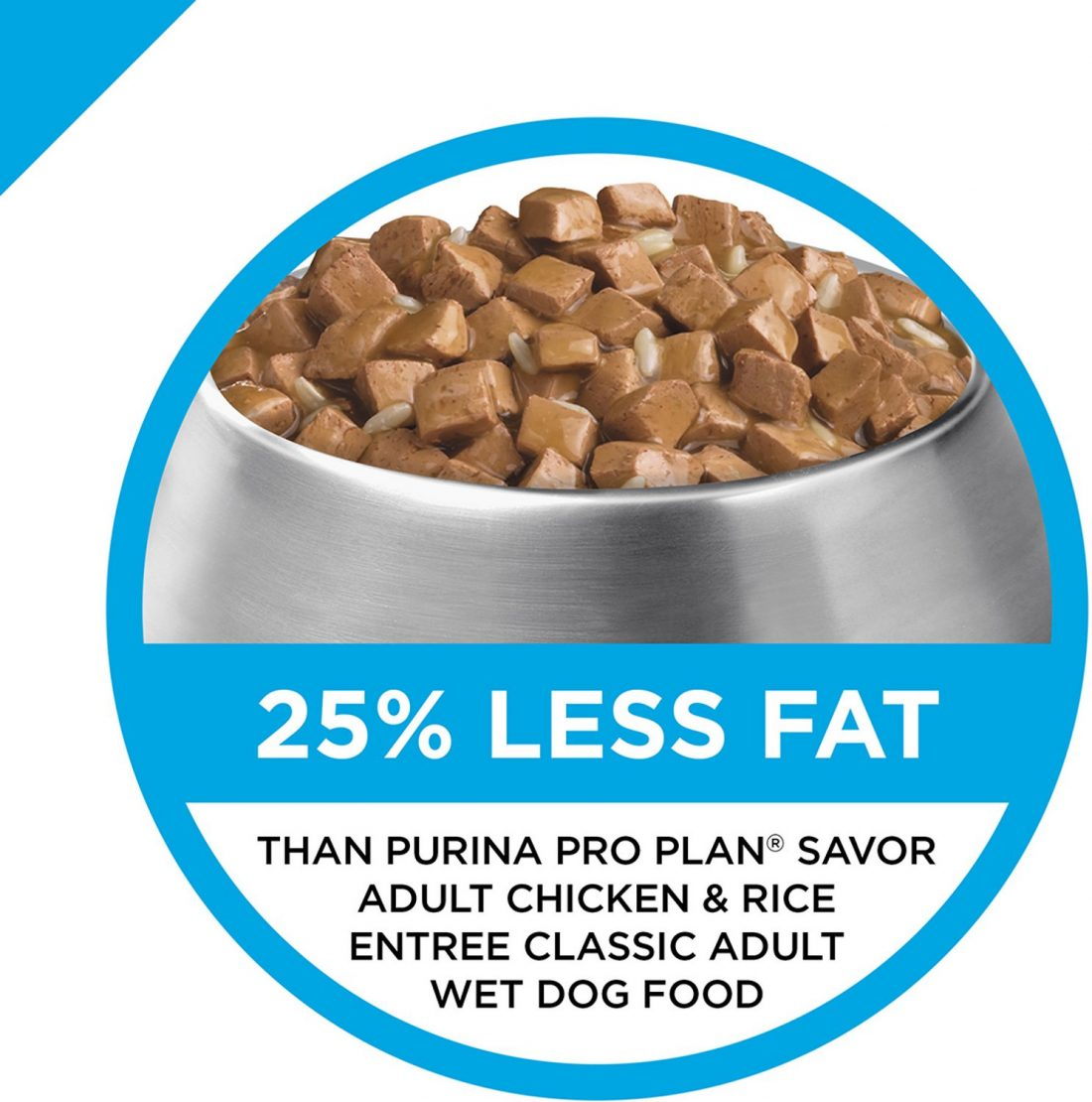 Purina Pro Plan Focus Weight Management Turkey and Rice Entree Morsels in Gravy Adult Wet Dog Food