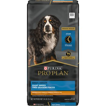 Purina Pro Plan Giant Breed Adult Dry Dog Food