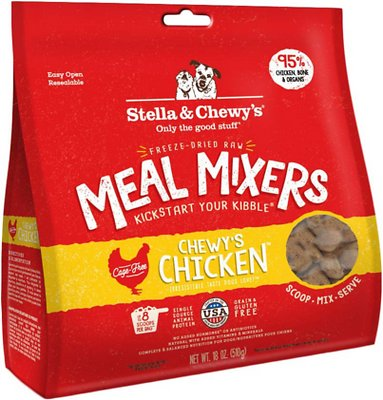 Stella & Chewy's Chewy's Chicken Meal Mixers Freeze-Dried Raw Dog Food Topper