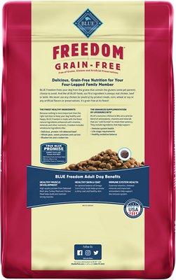 Blue Buffalo Freedom Adult Beef Recipe Grain-Free Dry Dog Food