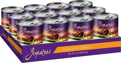 Zignature Kangaroo Limited Ingredient Formula Grain-Free Canned Dog Food