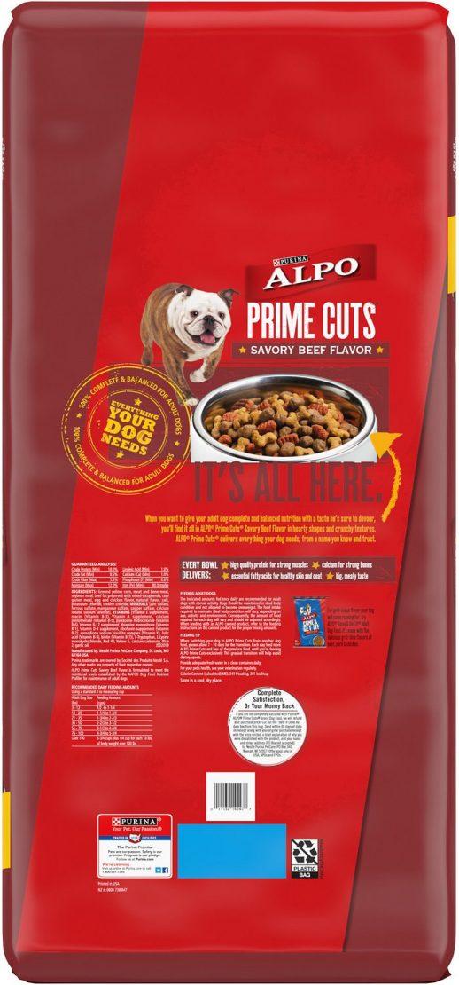 ALPO PRIME CUTS SAVORY BEEF FLAVOR DRY DOG FOOD