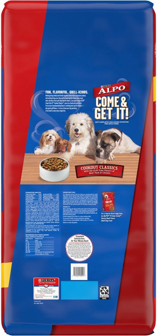 ALPO COME & GET IT! COOKOUT CLASSIC DRY DOG FOOD