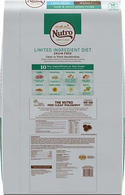 Nutro Limited Ingredient Diet Grain-Free Adult Large Breed Lamb & Sweet Potato Recipe Dry Dog Food