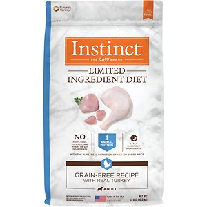 Instinct Limited Ingredient Diet Grain-Free Recipe with Real Turkey Freeze-Dried Raw Coated Dry Dog Food