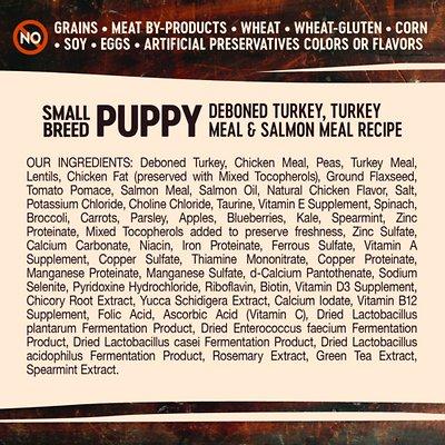Wellness CORE Grain-Free Small Breed Puppy Deboned Turkey Recipe Dry Dog Food