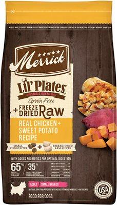 Merrick Lil' Plates Grain-Free Chicken & Sweet Potato Recipe with Freeze-Dried Raw Bites Dry Dog Food