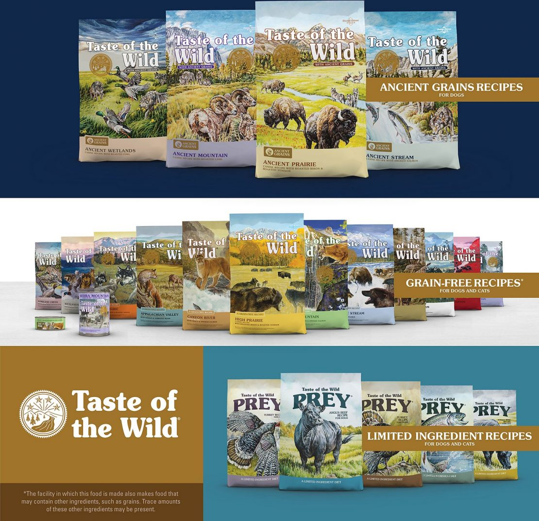 Taste of the Wild Pacific Stream Grain-Free Canned Dry Dog Food