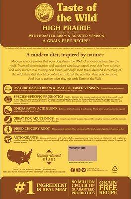 Taste of the Wild High Prairie Grain-Free Dry Dog Food