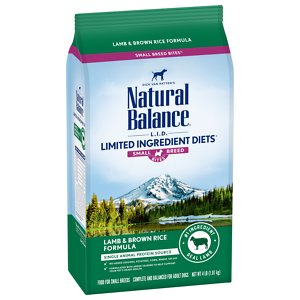Natural Balance Small Breed Bites LID Lamb Meal Recipe