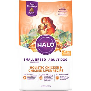 Halo Holistic Chicken & Chicken Liver Small Breed Dog Food