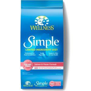 Wellness Simple Limited Ingredient Diet Grain-Free Salmon & Potato Formula Dry Dog Food