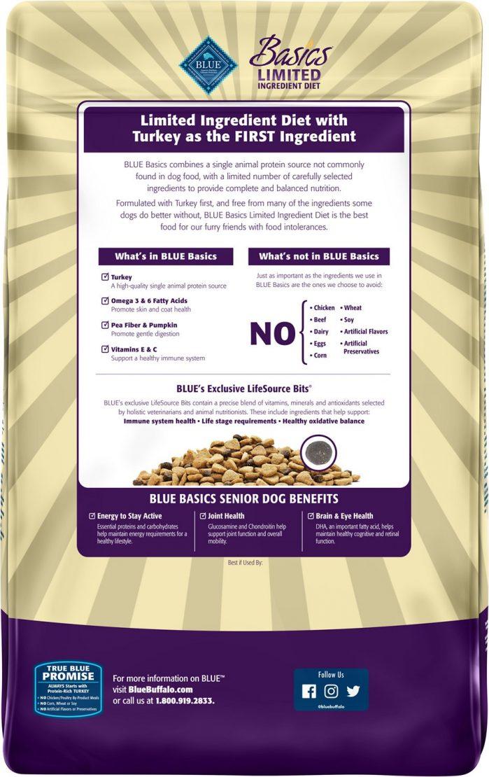 Blue Buffalo Basics Limited Ingredient Senior Recipe
