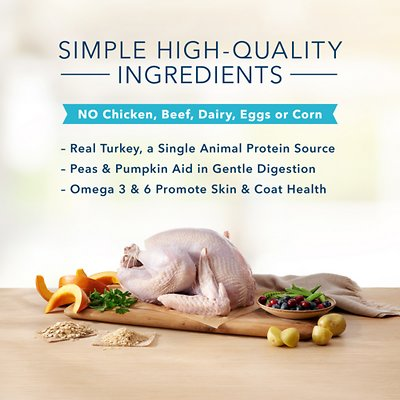 Blue Buffalo Basics Limited Ingredient Diet Turkey & Potato Recipe Puppy Dry Dog Food