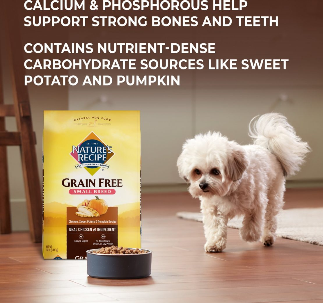 Nature's Recipe Small Breed Grain-Free Dog Food