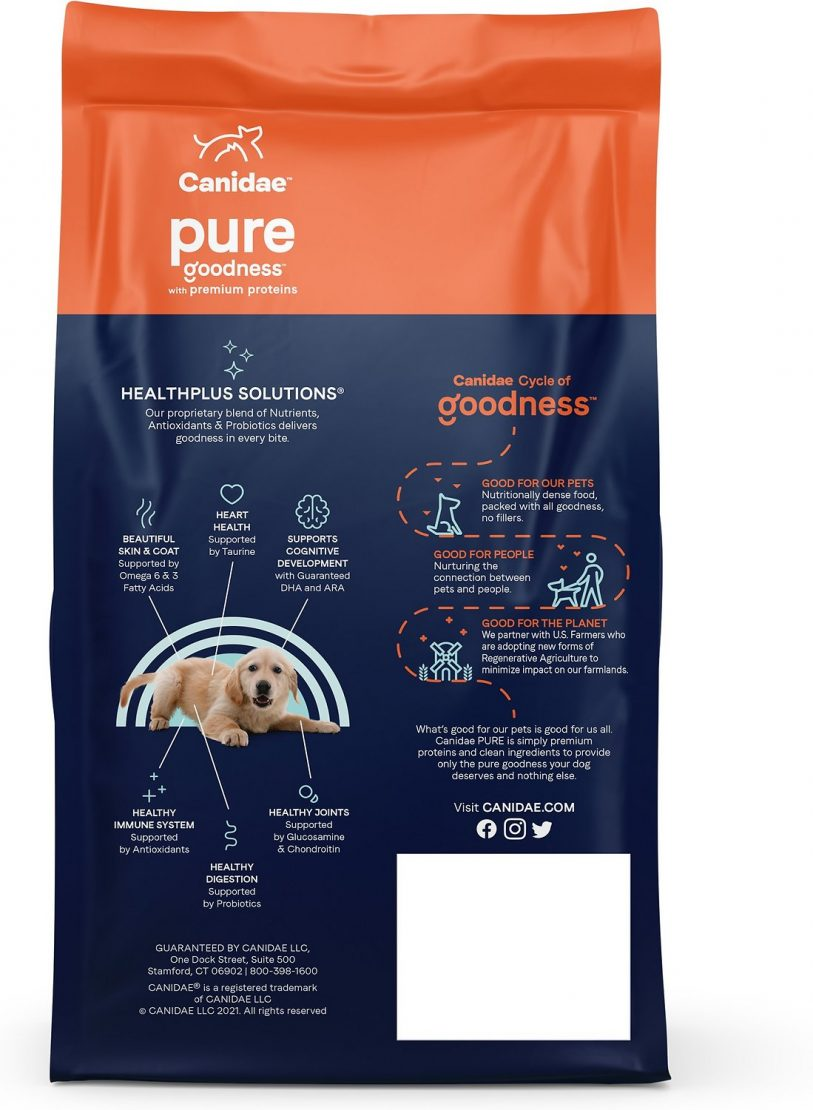 Canidae Grain-Free PURE Limited Ingredient Diet Puppy Food