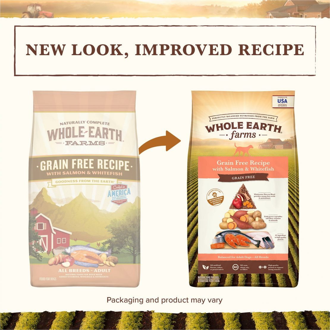 Whole Earth Farms Grain-Free Salmon & Whitefish Recipe